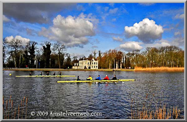 Head of the river Amstelveen
